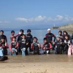 20150928 秋の実習6 竜宮浜海水浴場