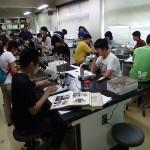 20150808森里海連環学実習 顕微鏡観察