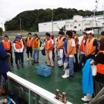 20150822海洋系実習I 海洋観測・底生動物採集1