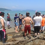 20150808森里海連環学実習 神崎海水浴場