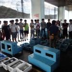 20150828 海洋系実習II 魚市場見学2