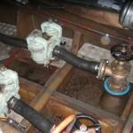 130918緑洋丸取水管修理1