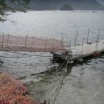 131022観測桟橋修理1
