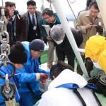 20160310緑洋丸お披露目式3 調査デモンストレーション